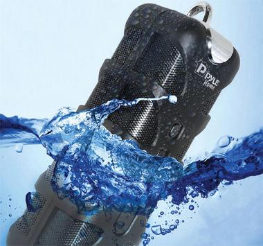 Pyle PWPBT60GN Splash-Proof Bluetooth Marine Portable Wireless iPod iPad Speaker Thumbnail 2