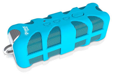 Pyle PWPBTA70BL Splash-Proof Bluetooth Wireless Outdoor Rechargeable Speaker Thumbnail 1