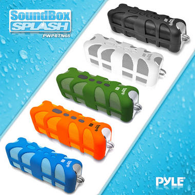 Pyle PWPBTN65BL Sound Box Splash Portable Speaker With Bluetooth-NFC/AUX IN Thumbnail 5