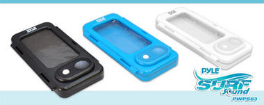 Pyle PWPS63BK WaterProof Portable Speaker Case for iPod iPhone MP3 Smartphone Thumbnail 4