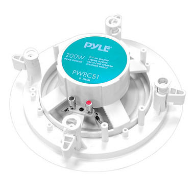 Pyle-Home PWRC51 5.25'' 2-Way In ceiling Stereo Speaker Weather Proof Thumbnail 3