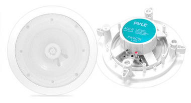 Pyle-Home PWRC81 8'' Two Way In Ceiling Stereo Speaker Water Proof Thumbnail 1