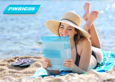 Pyle PWSIC25 Waterproof Pouch Case Shower] Keeps Dry iPads/iPhones/Smartphone Thumbnail 3