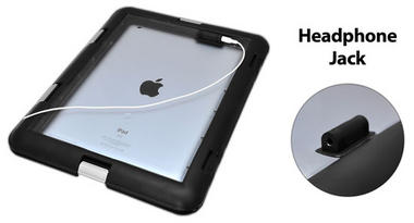 PWSIC30 Protection Waterproof Sport Case Headset Compatibility for iPad Tablet Thumbnail 3