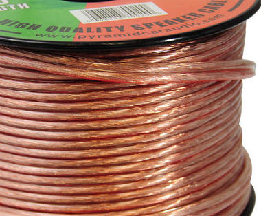 Pyramid RSW12100 12 Gauge 100 ft. Spool of High Quality Speaker Zip Wire Thumbnail 2