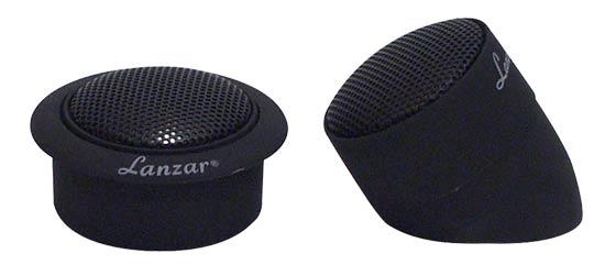 Lanzar TWS 1 inch Titanium Dome Neodymium Flush, Surface or Angle Mount Tweeter Thumbnail 1