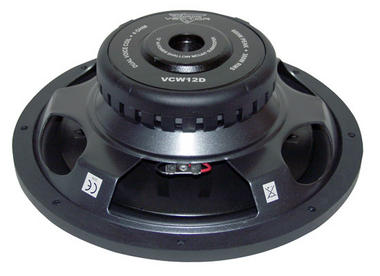 "Lanzar Vector 12"" Inch 600w Slim Shallow Mount Underseat Compact Subwoofer Sub Thumbnail 2"