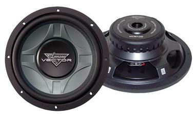 "Lanzar Vector 12"" Inch 600w Slim Shallow Mount Underseat Compact Subwoofer Sub Thumbnail 1"