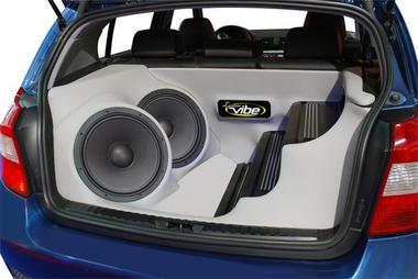 Lanzar VMRN65 Vibe Series 6.5-Inch 400 Watt Mid-Range Speaker Thumbnail 3