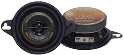 "Pyramid 3.5"" 8cm 80mm 240w Coaxial Two Way Car Door Dash Speakers Mk2 Golf Etc"