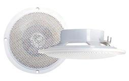 """Pyramid MDC5 4"""" WaterProof Marine Patio Bathroom Ceiling In Wall Hi Fi Speakers"""