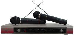 PYLE-PRO PDWM2000 - Dual VHF Wireless Microphone System