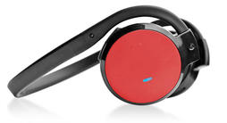 Pyle PHBT5R Bluetooth Wireless Headphones Built-In Microphone Handsfree Red