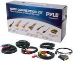 Pyle PHDMIKT1 HDTV Audio/Video Cable Kit Compatible w/ Plasma LCD/LED/DLP/DVD