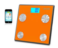 Pyle PHLSCBT4OR Bluetooth Digital Weight Personal Health Scale Wireless iPhone