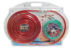 Pyle PLAM20 80A 4 Gauge AWG Power & Earth Amplifier Wiring Kit Set With 5m RCA