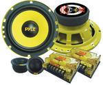 "Pyle PLG6C 6.5"" 400w 2-Way Custom Component Kit Set Car Door Speakers System"