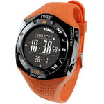 Pyle PSKIW25O Ski Master Watch 20 Ski Logbook Weather Forecast and Altimeter