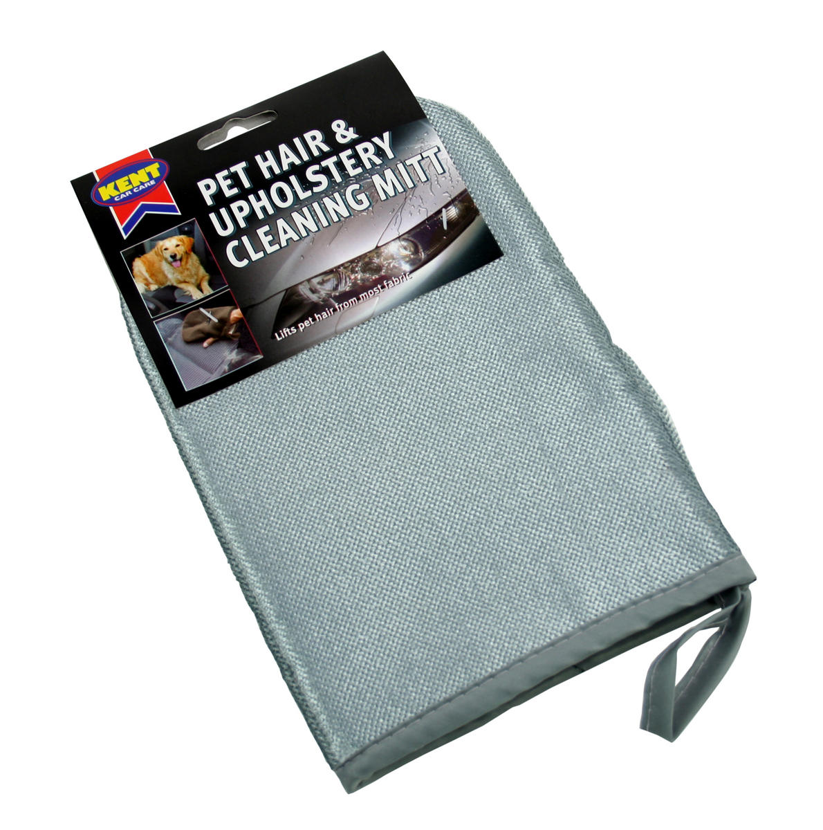 Kent Car Care Q2499 Pet Hair Removal Mitt