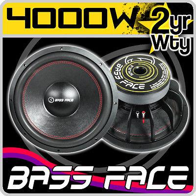 Bass Face 15