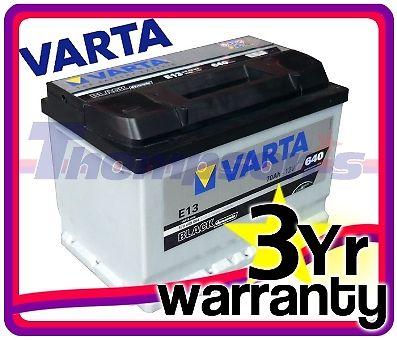 Saab 9-5 Estate 2.2 TiD 120hp Diesel 98> Varta Black Heavy Duty 12v Car Battery