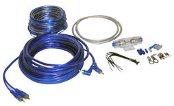 Lanzar AMPKIT8 8 Awg Gauge Car Amp Amplifier Power & Earth Wiring Kit 5m RCA
