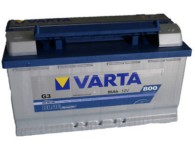 varta bmw 5 series e60 530d 535d heavy duty car battery ebay. Black Bedroom Furniture Sets. Home Design Ideas
