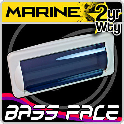 Bass Face Marine Boat Waterproof CD Radio Stereo Fascia Splash Cover Housing Kit
