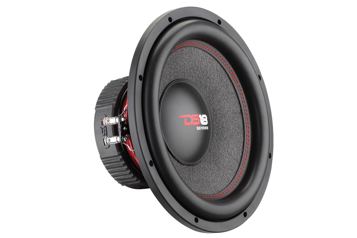ds18 gen124d genesis car audio 900 watts 12 inch sq spl. Black Bedroom Furniture Sets. Home Design Ideas