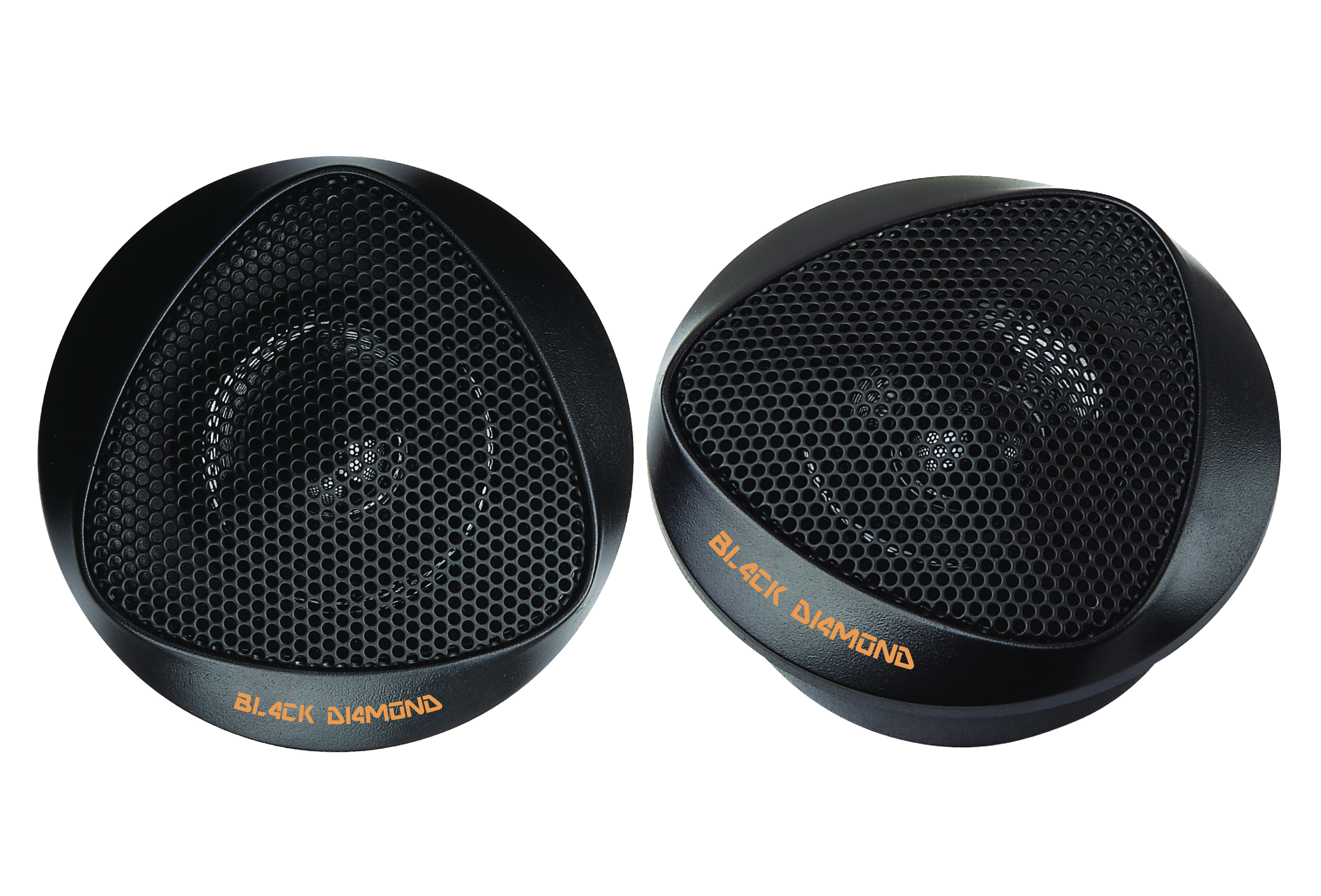 DS18 BD-BT1 Black Diamond Series High Quality Car Audio 100 Watts Dome Tweeters