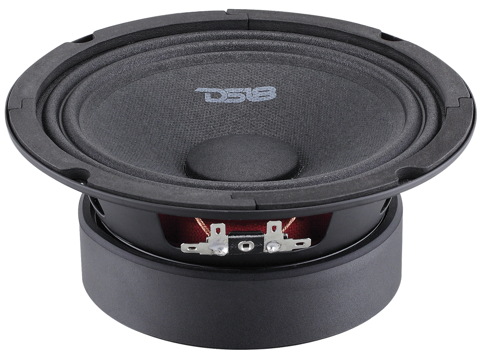 "DS18 BD-MR6 Black Diamond 420 Watts 6.5"" Inch Midrange Loud Speaker"