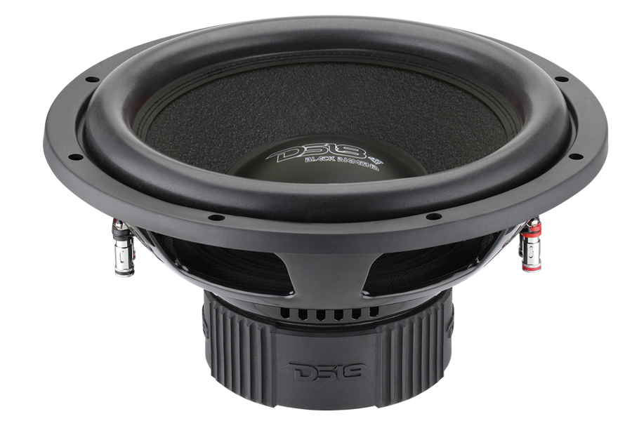 "DS18 BD-X154D Black Diamond 1400 Watts 15"" Inch Subwoofer"