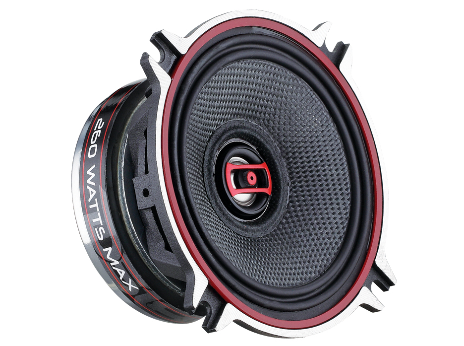 "DS18 EXL-SQ4 260 Watts 4"" Inch Coaxial Speakers Pair"