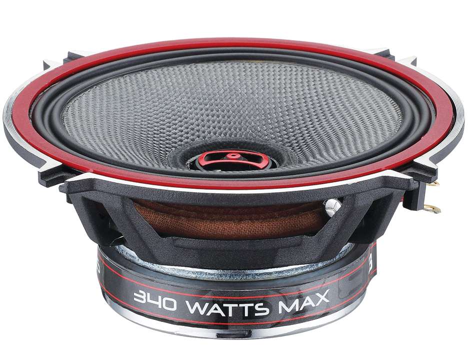 "DS18 EXL-SQ5.25 340 Watts 5.25"" Inch Coaxial Speakers Pair"