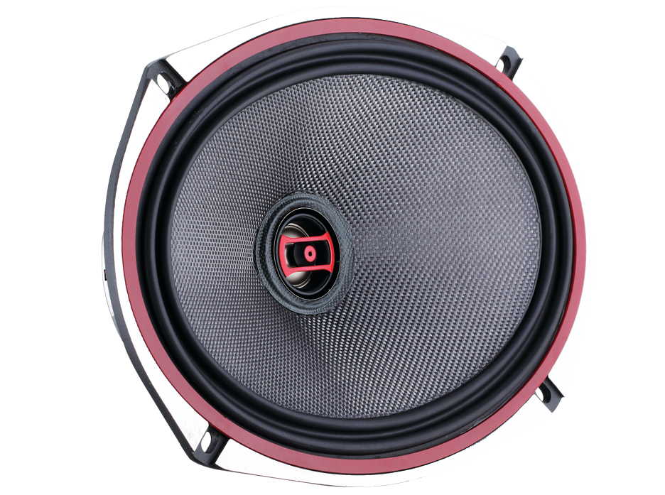 """DS18 EXL-SQ6.9 560 Watts 6x9"""" Inch Coaxial Speakers Pair"""