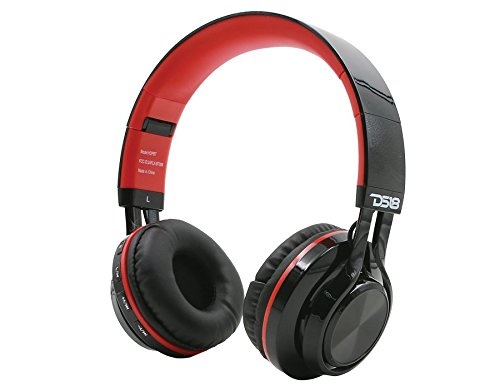 DS18 HDPBT Foldable Bluetooth Headphones with built in TF Card Input Single