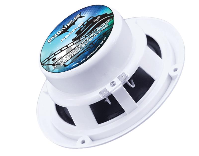 DS18 WAVES652 280 Watt Marine Coaxial Marine Coaxial Speakers