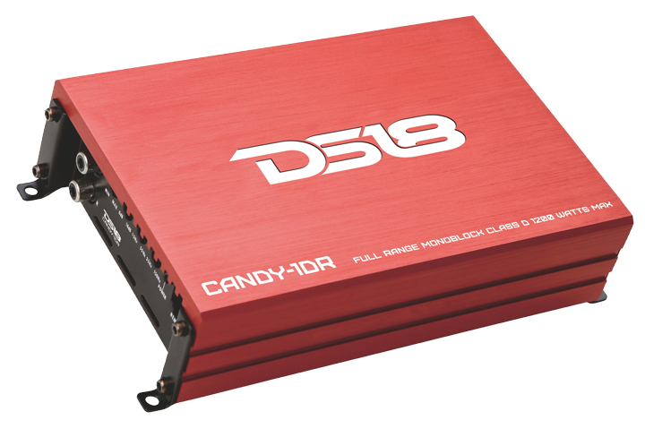 DS18 CANDY-1DR Candy Series Car Audio Monoblock 1200 Watt Amplifier