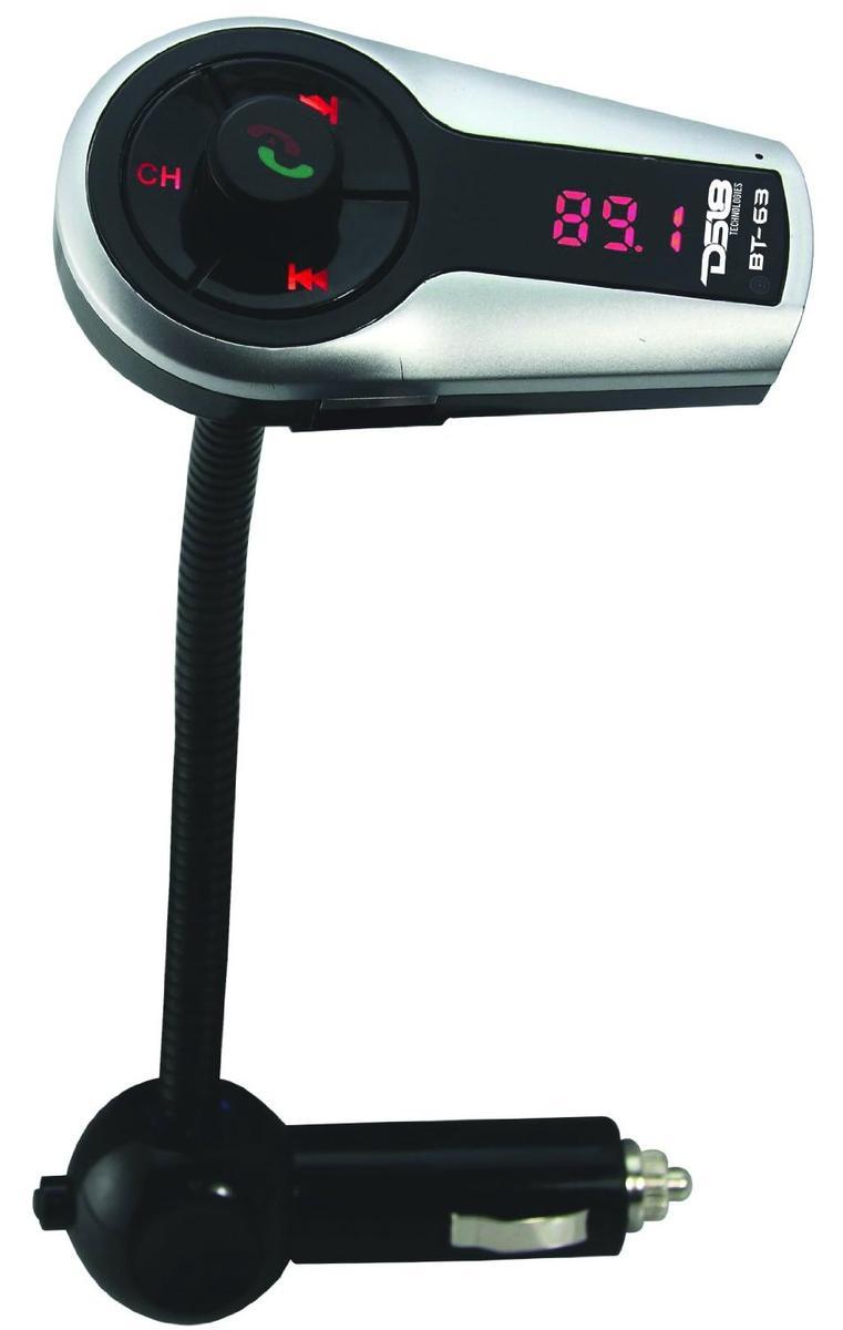 DS18 BT-63 12 Volt FM Bluetooth Hands Free Transmitter