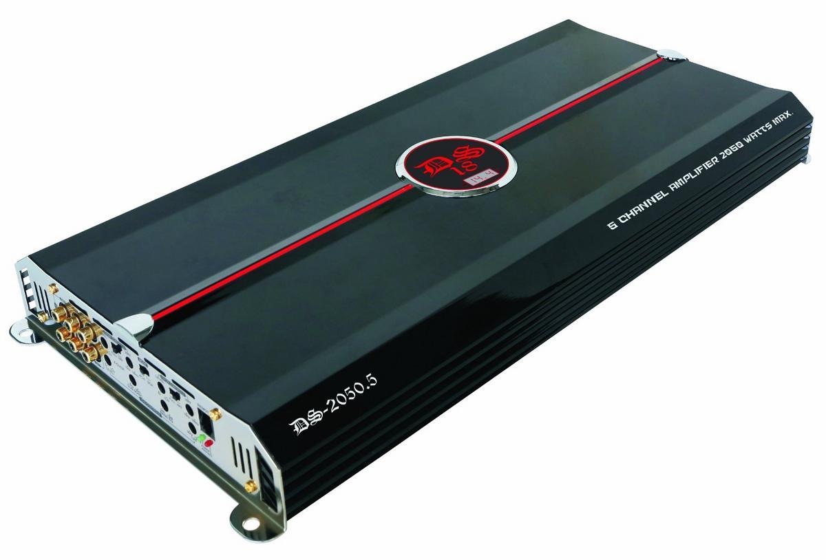 DS18 DS-2050.5 Genesis Series Car Audio 5 Channel Stereo 2050 Watt Amplifier