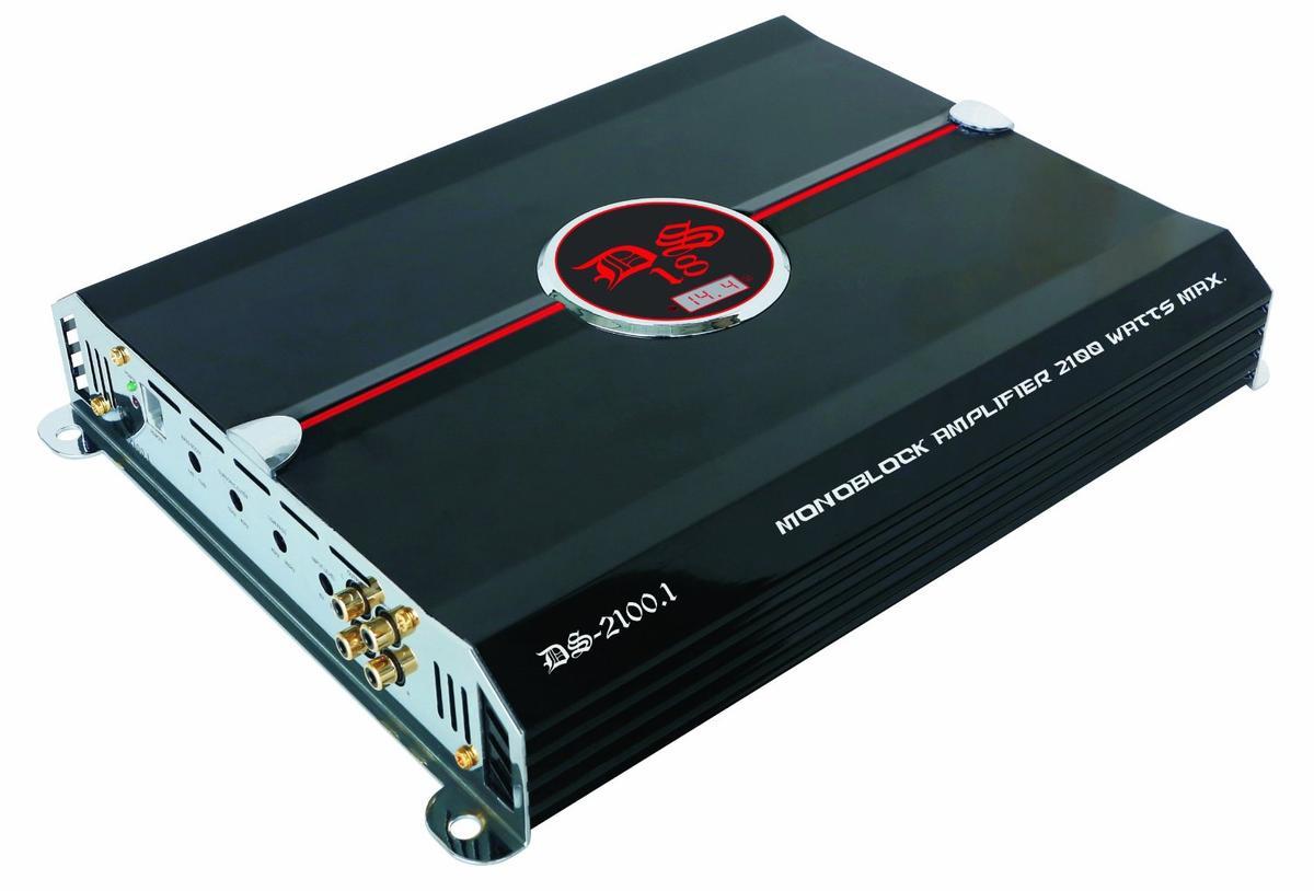 DS18 DS-2100.1 Genesis Series Car Audio Monoblock 2100 Watt Amplifier