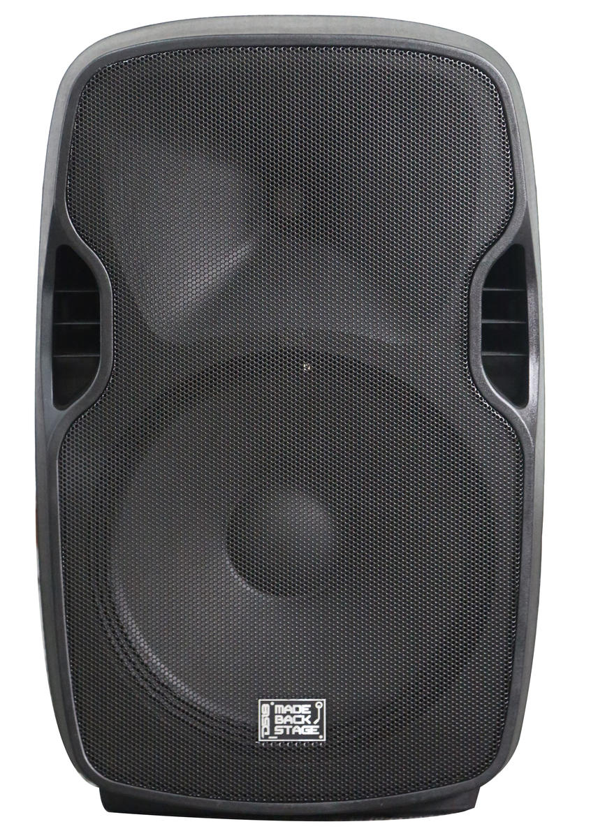 "DS18 MB-NV15BAT 2000 Watt 15"" PA DJ Active Loud Speaker"