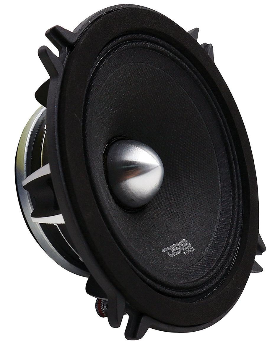 "DS18 PRO-FR5NEO Car Audio 5.25"" 400 Watt Neodymium Midrange 4 Ohm Speaker Single"