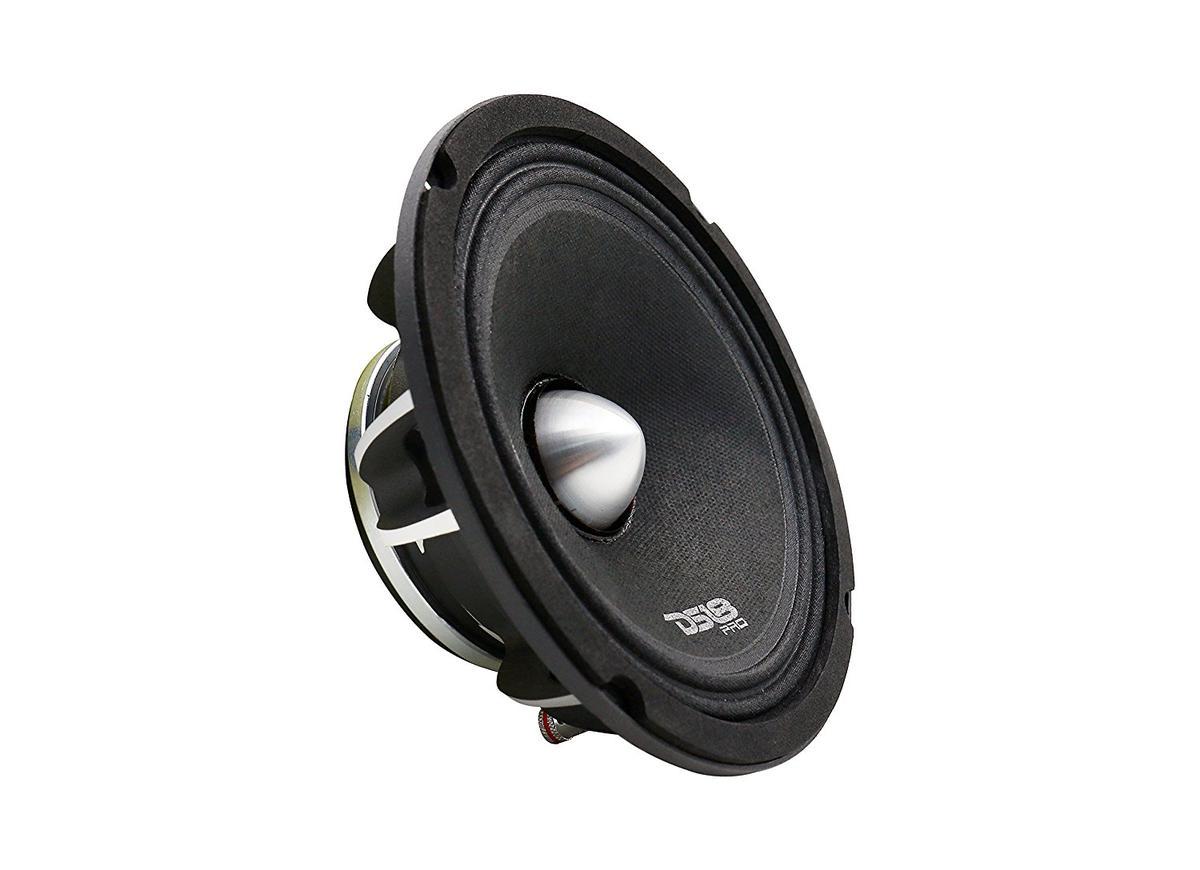 "DS18 PRO-FR8NEO 8"" Car Audio 500 Watt Neodymium Midrange 4 Ohm Speaker Single"