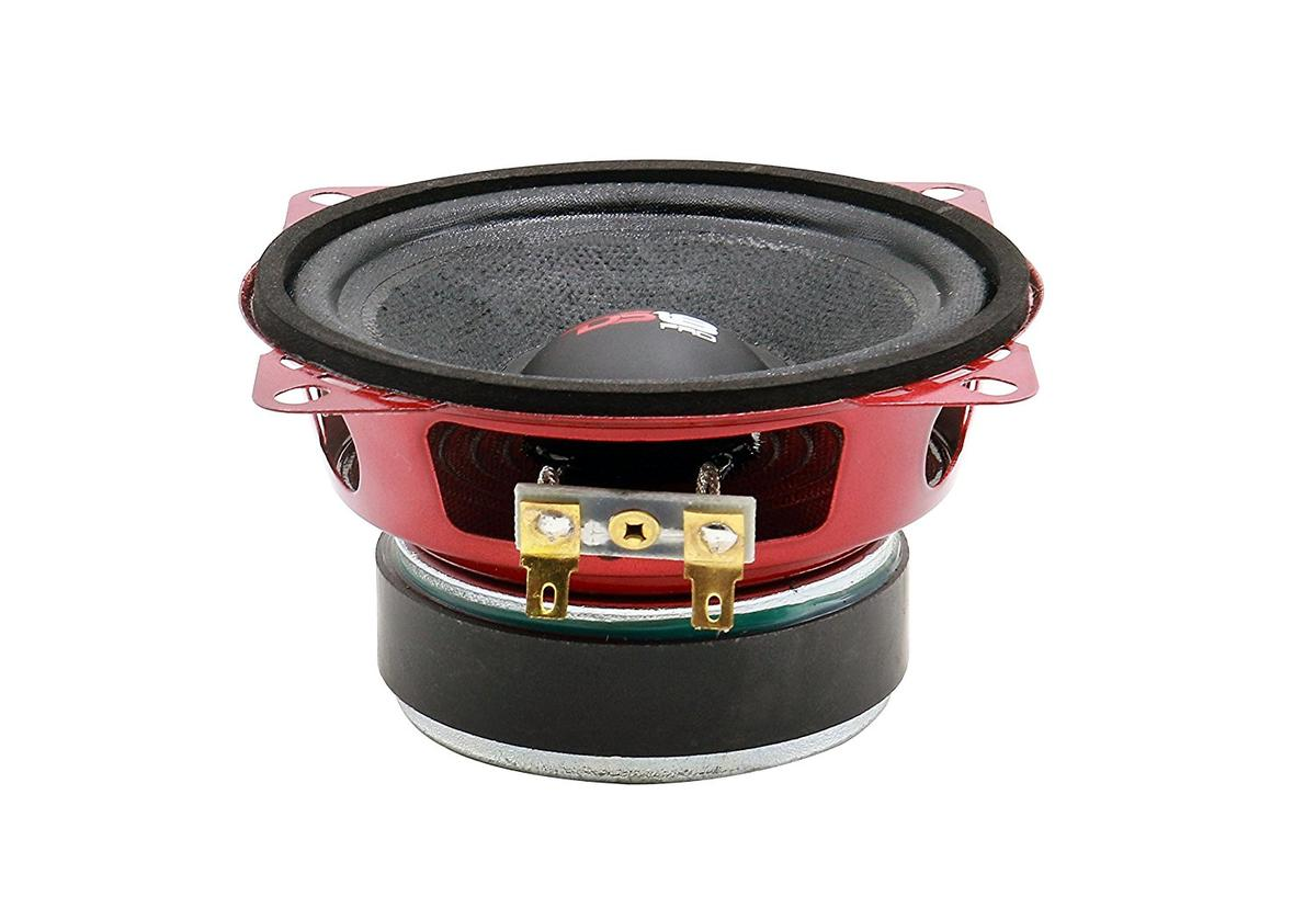 "DS18 PRO-X4M Series Car Audio 4"" Midrange Loudspeaker 200 Watts Max Single"