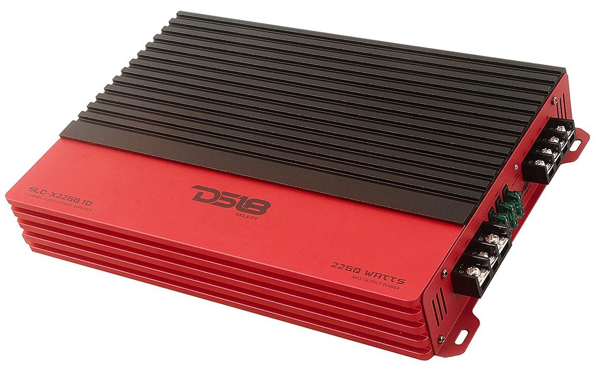 DS18 SLC-X1550.1D 1 Channel Class D Monoblock Amplifier 1550 Watt Power Single