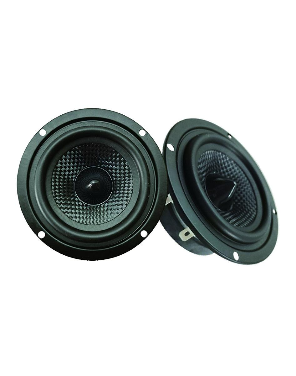 "DS18 Z-354 3.5"" Car Audio Full Range Speakers 4 Ohms 100 Watts Max Pair"