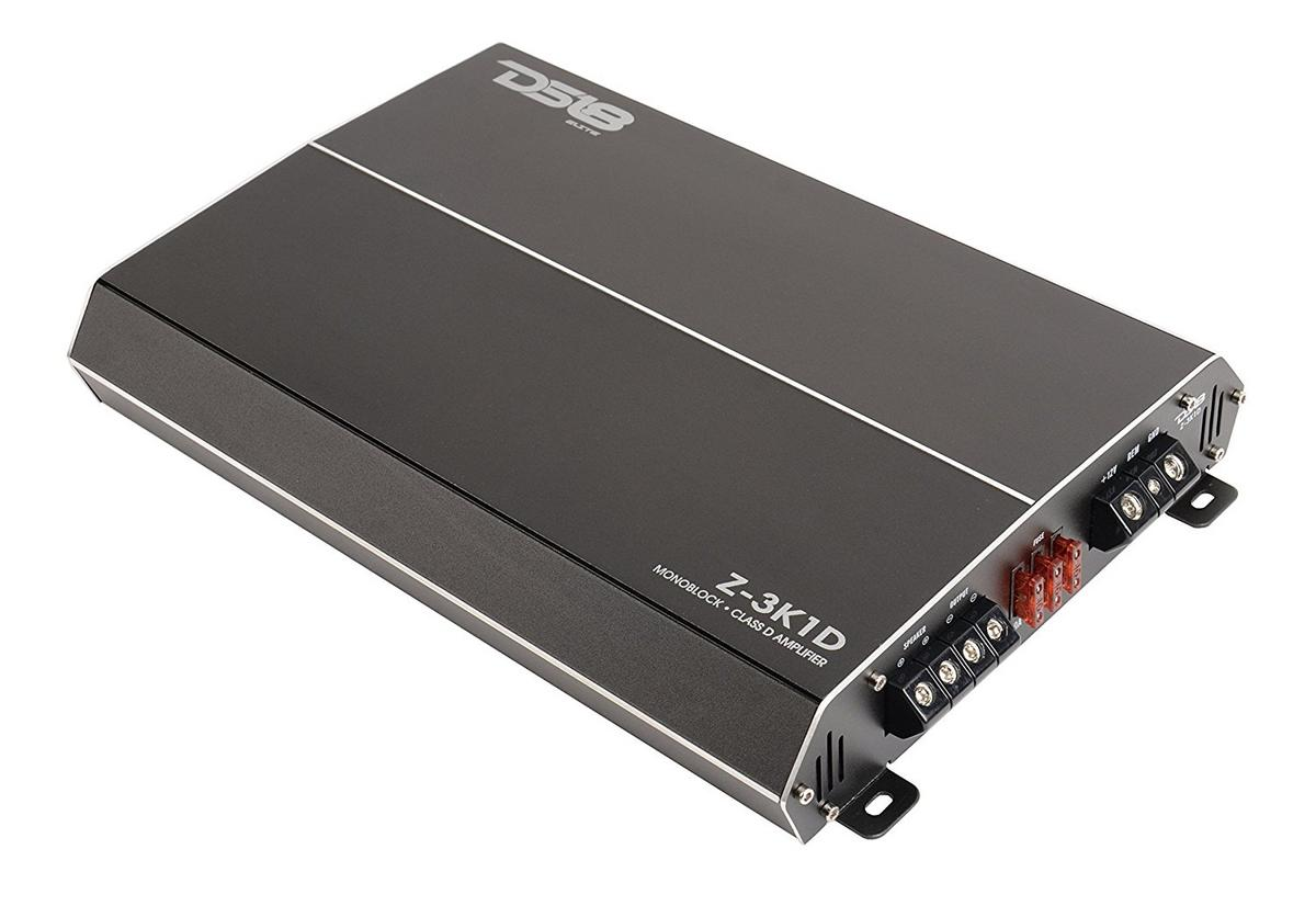 DS18 Elite Z-3K1D 3000 Watt Monoblock High Performance Power Amplifier Single
