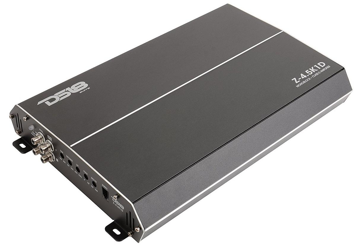 DS18 Elite Z-4.5K1D 4500 Watt Monoblock High Performance Power Amplifier Single