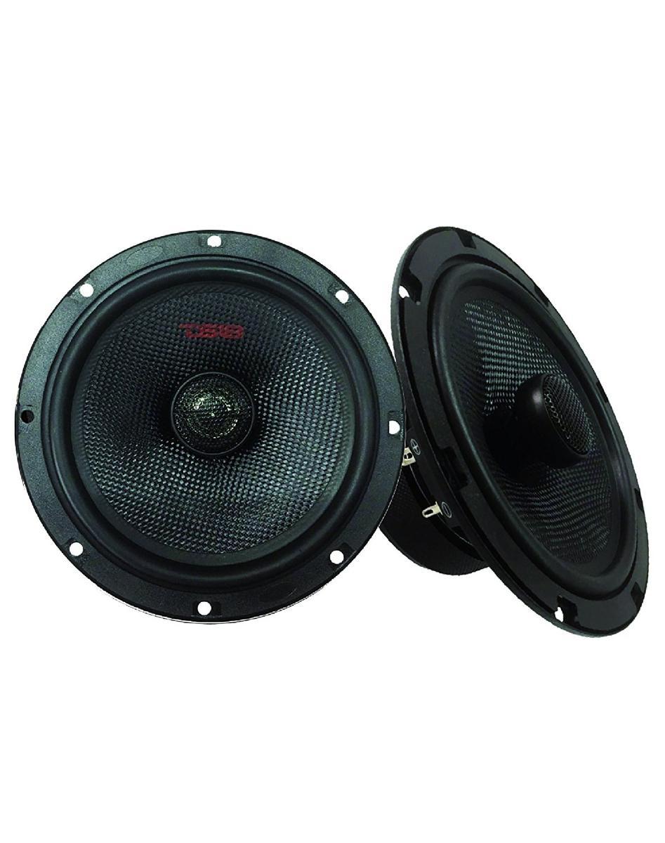 """DS18 Z-654 6.5"""" Car Audio Coaxial Speakers Neodymium Tweeters 4 Ohm 180 Watt Pair"""